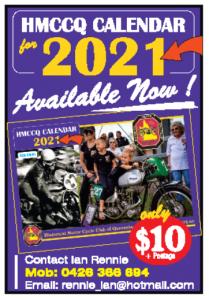2021 HMCCQ Calendar - Available Now!